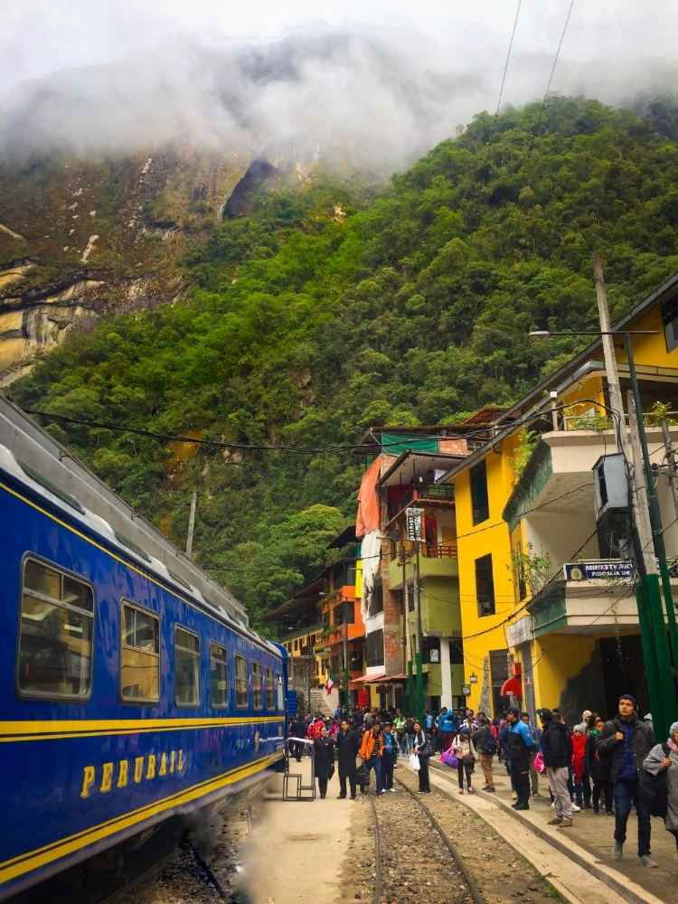 Train Station at Aguas Calientes