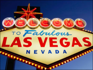 NEON WELCOME TO FABULOUS LAS VEGAS NEVADA SIGN