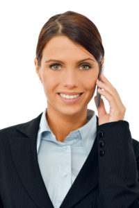 virtual-receptionist answering call