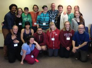 My workshop participants. (Betsy Johnson)