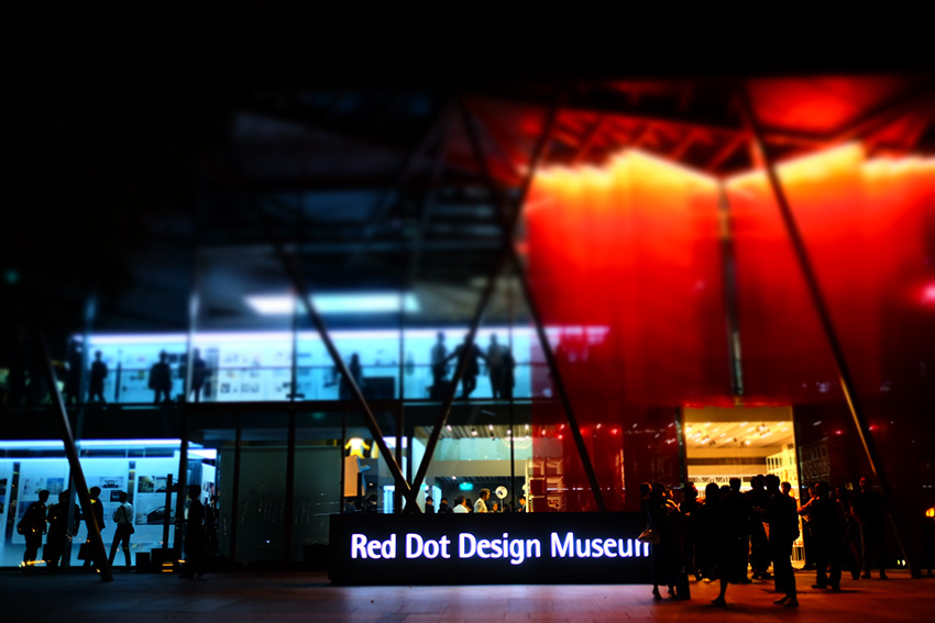Designers' night at the opening -