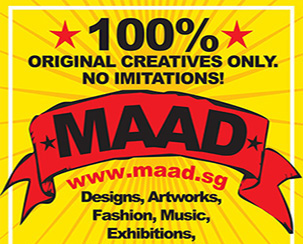 Upcoming MAAD - Date: TBATime: TBALocation:Red Dot Design Museum*11 Marina Boulevard