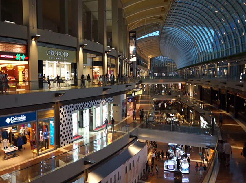 3 - The Shoppes at Marina Bay Sands