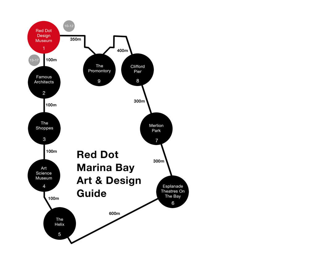 17. Free Seating - Public Art Installations  - Red Dot Marina Bay Art & Design Guide