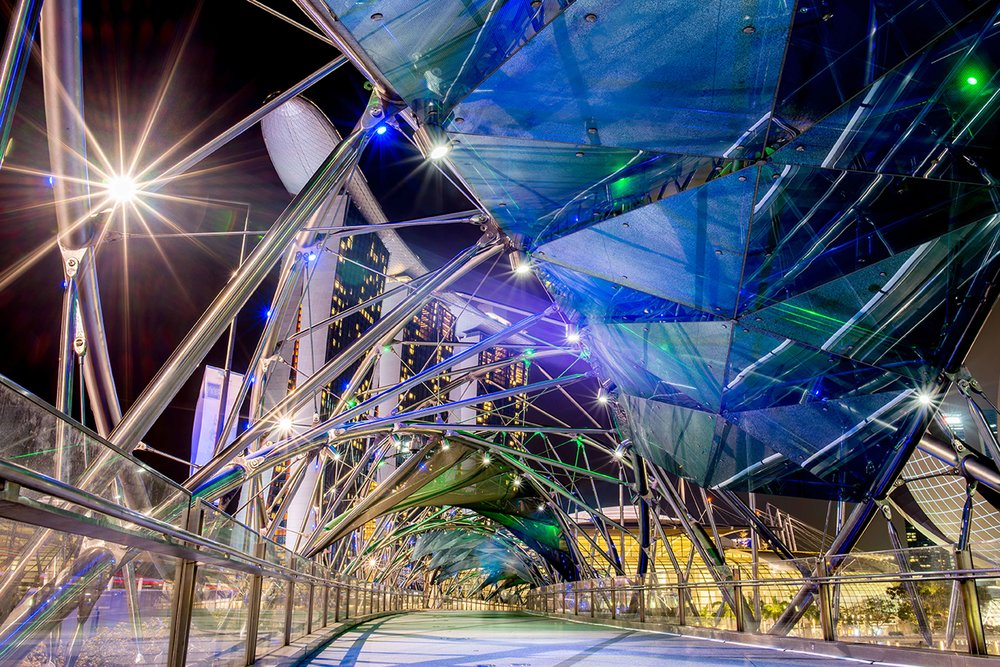 5. The Helix - Red Dot Marina Bay Art & Design Guide