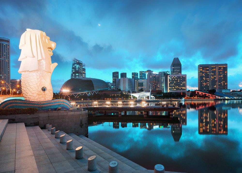 7: Merlion Park - Singapore's mythical symbol