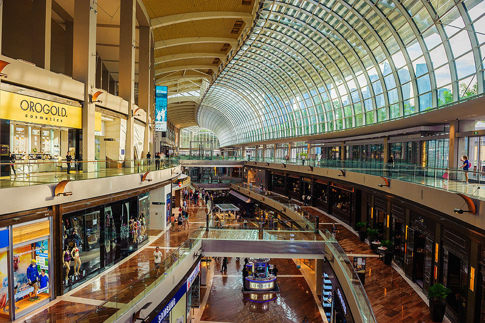 3. The Shoppes at Marina Bay Sands
