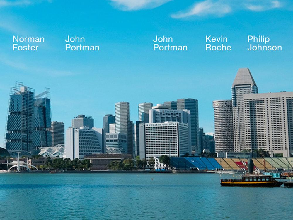 2 - Prominent Architects at the Marina Bay