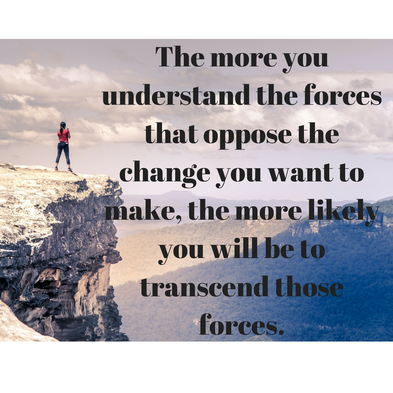 The more you understand the forces that oppose the change you want to make, the more likely you will be to transcend those forces in a way that best serves your purpose.ng.png