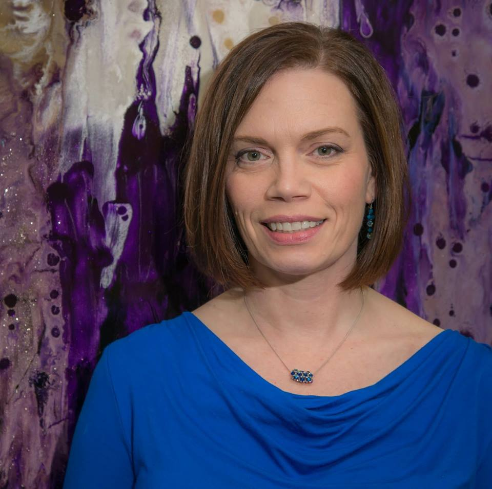 MIKEE HUBER - Mikee Huber is a Dayton, Ohio artist whose current artistic obsession is creating oil based multi-media abstract paintings. She will be showing her paintings throughout the year of 2019 in our downstairs seating area.Click below to learn more about Mikee and her artwork.