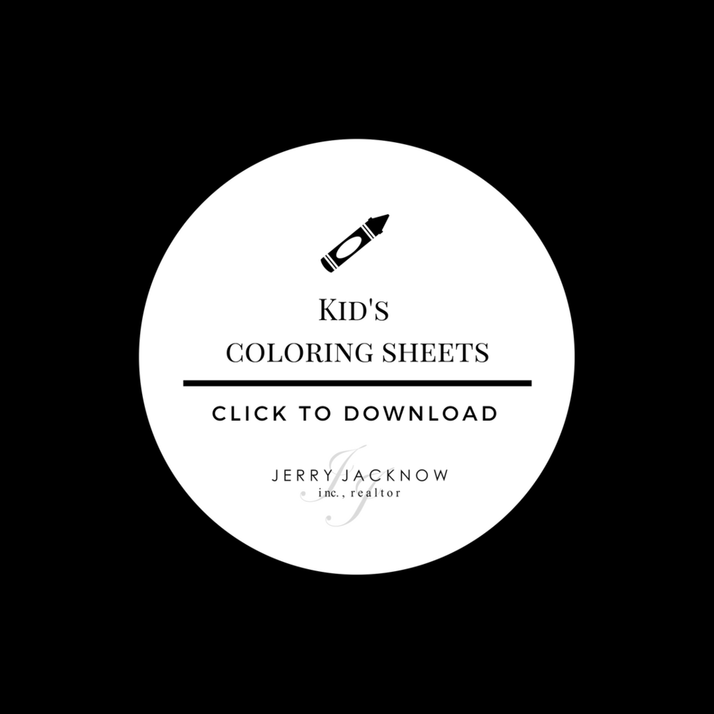 Jacknow Realty Kid's Coloring Sheets
