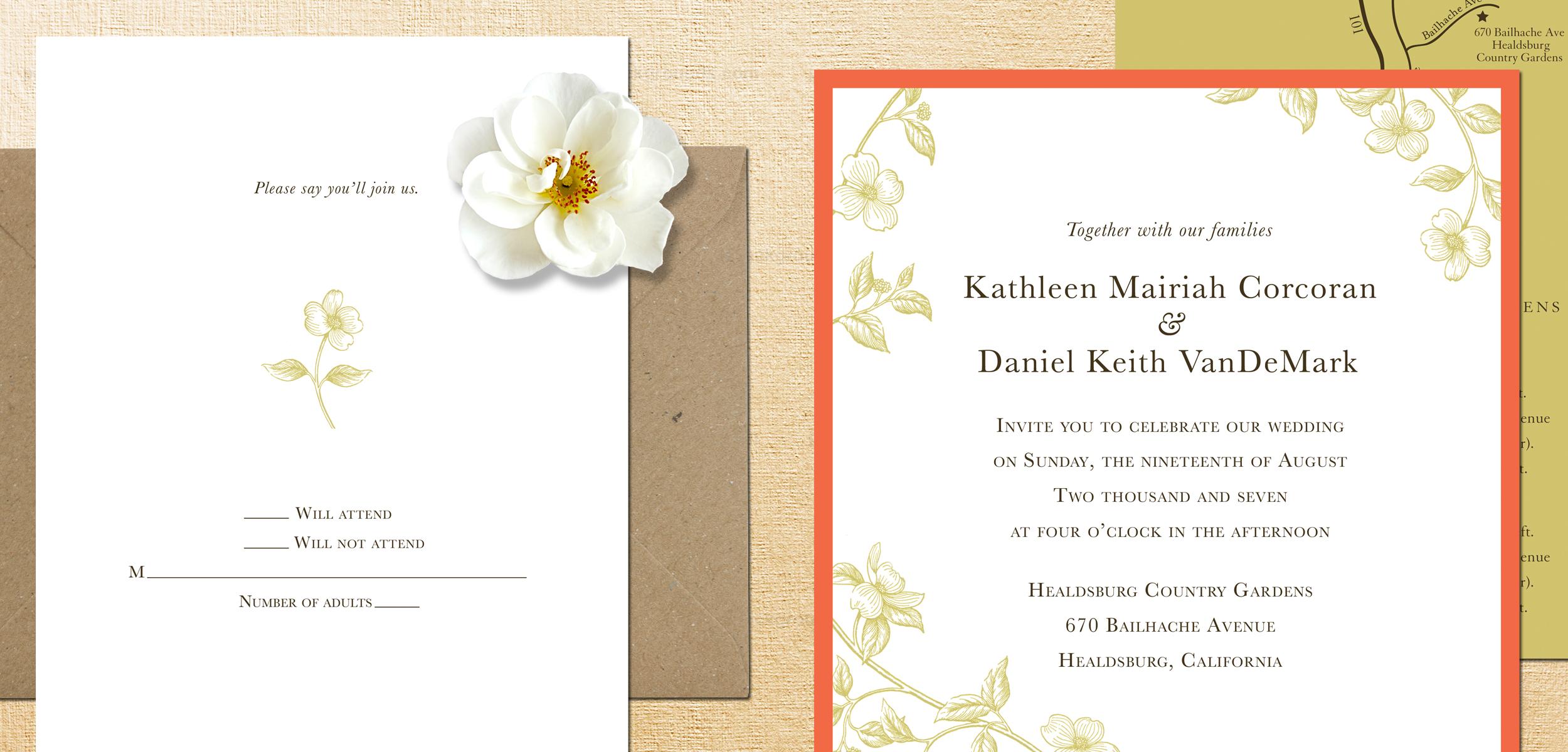 custom invitations — the brink