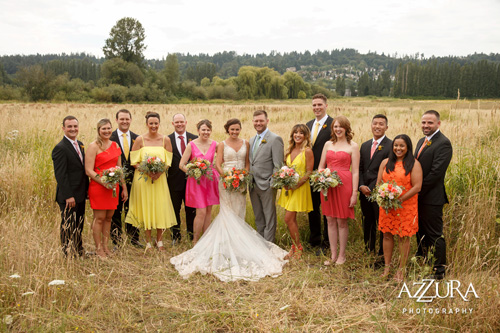 Spanish Outdoor Wedding at the Historic Hollywood Schoolhouse from Pink Blossom Events