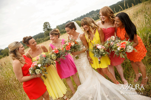 Bright Spanish Outdoor Wedding at the Historic Hollywood Schoolhouse from Pink Blossom Events