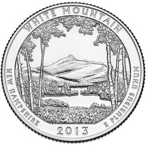 2013 quarter released by the U.S. Mint