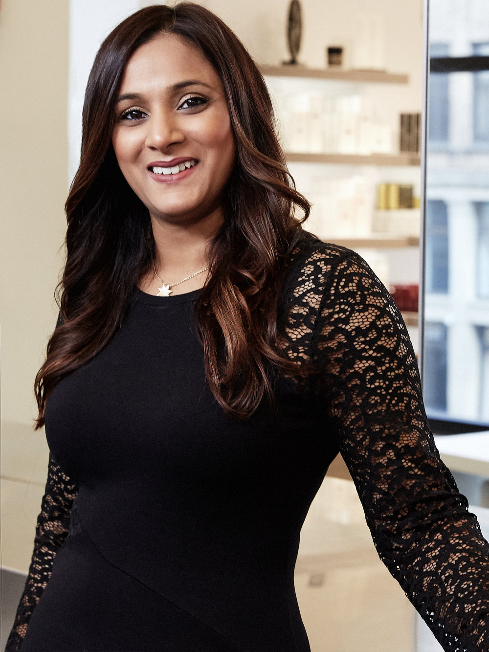 ANEESA   Aneesa is a senior colorist who started working in the beauty industry 15 years ago, when she walked through the doors of Butterfly Studio Salon. After 15 years in the industry, Aneesa still loves making both existing and new clients feel good about themselves. Over the years, she has earned praise for her work creating natural, dimensional brunettes. This is one of Aneesa's favorite techniques because it works for someone with a busy lifestyle who may not have time to come into the salon every 4-6 weeks.   @aneesadial_colorist
