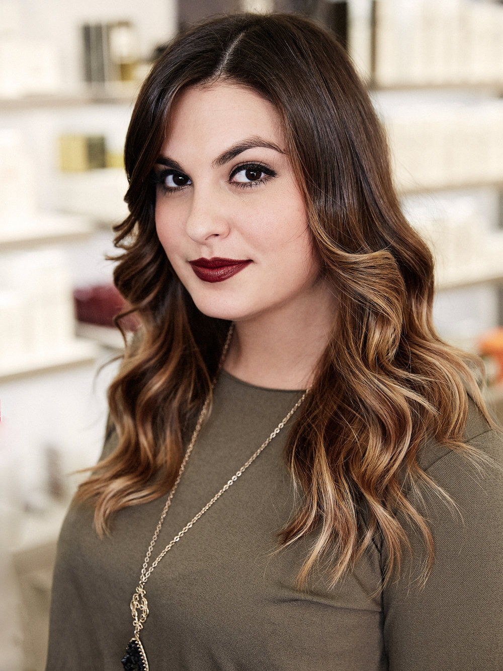 ANASTASIA   Anastasia has worked for 6 years in the beauty industry, the last 5 of which at Butterfly Studio Salon. Anastasia's major source of hair-color inspiration is the changing of the seasons. All beauty trends shift seasonally, and hair upgrades are the most important for reinvigorating a look. Anastasia loves talking to her clients about current trends and techniques. To her, learning and giving back through education is what makes this industry so special, which is why she dedicates time to mentoring young artists in the beauty industry.   @anastasiageorgas