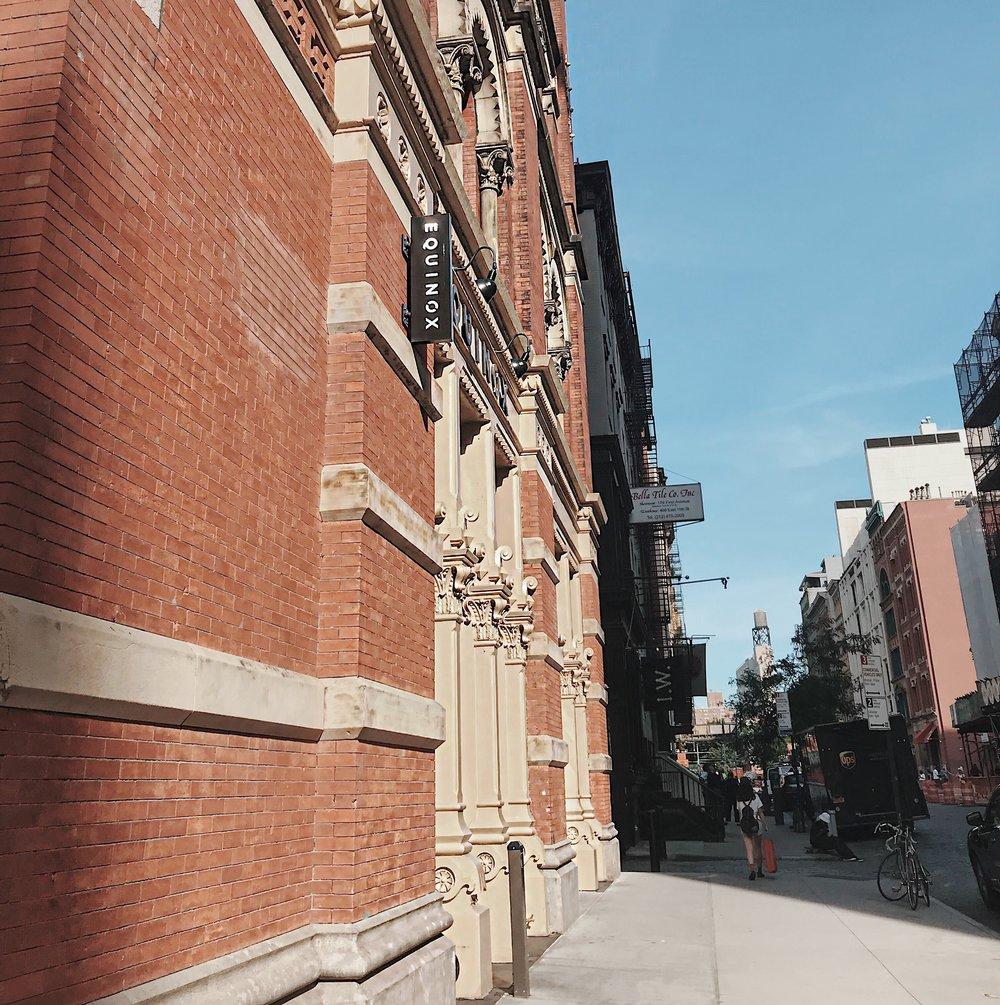 The Equinox — Hannah Hearts NYC