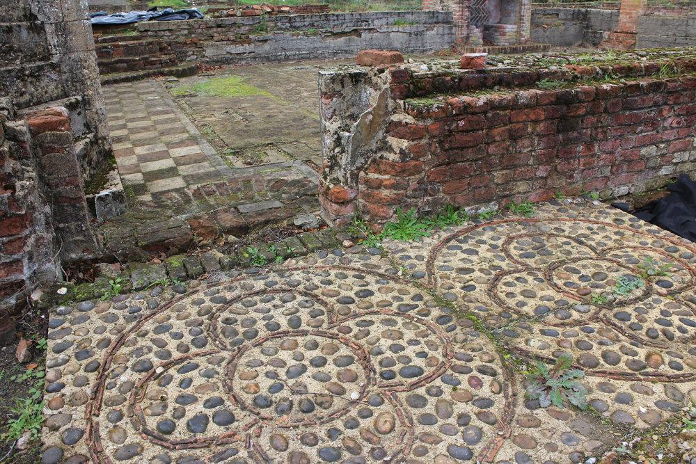 Tudor floor, ODAS site