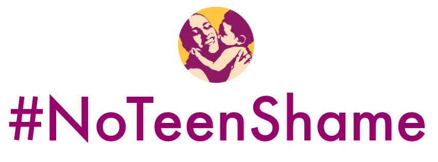 Our partners at NoTeenShame pioneered the shame-free young parent movement, and continue to fight for equitable access of resources & support.