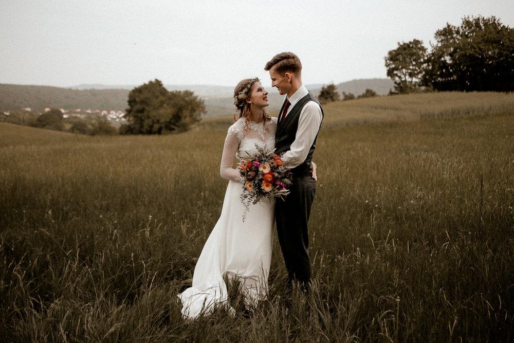 Henrik & Melanie — Vintage Summer Wedding near Mannheim