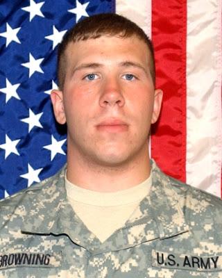 Army PFC Brian Browning