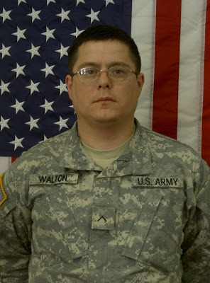 Army PFC Brett Walton