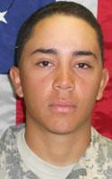 Army PFC Gil I. Morales Del Valle, 21 - Jacksonville, FL/Aug 3