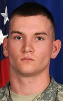 Army PFC Brett E. Wood, 19 - Spencer, IN / Sept 9, 2011