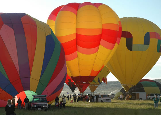 Balloon Launch Panguitch Utah