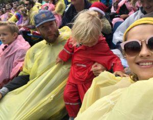 Christmas Pageant rain adventure!