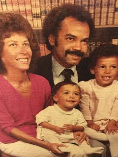 (Awkward?) Family Photo circa 1981