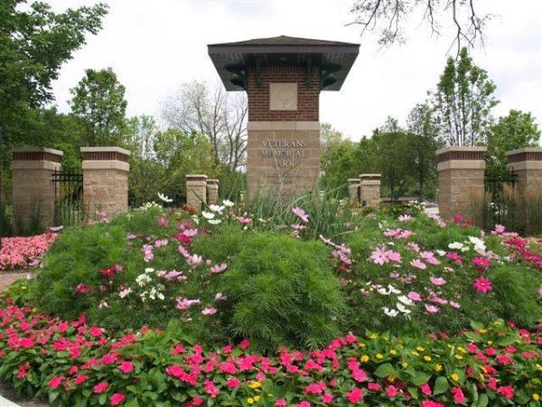 Veterans Memorial Park.