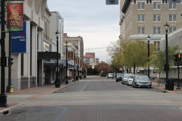 Third Street, downtown Alexandria. Photo by Billy Hathorn via  Wikimedia Commons .