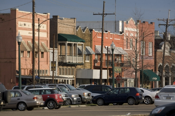 Downtown Hammond. Photo via  Southeastern Louisiana University .