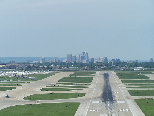 Louisville International Airport. Photo by Louisville Images via  Flickr .