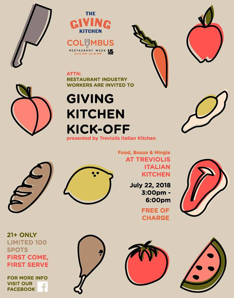Columbus Restaurant Week Kick Off With Giving Kitchen Giving Kitchen