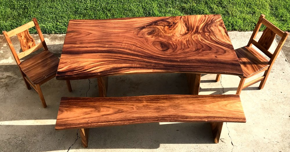 We Use The Best Local Hardwoods To Make Truly Unique Pieces Of Furniture To  Suit Every Need.