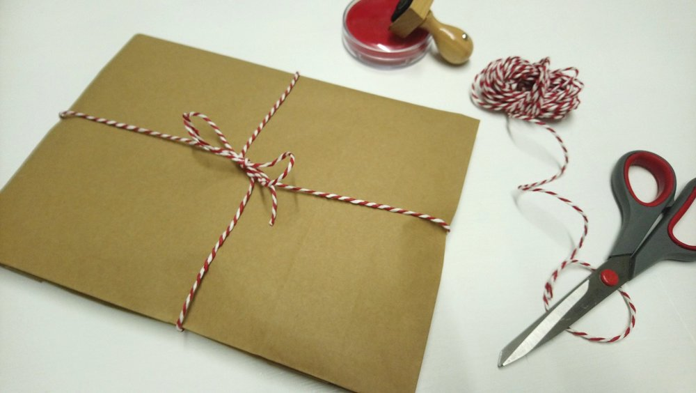 All orders are packaged with NO PLASTIC and special gift wrap is an optional extra
