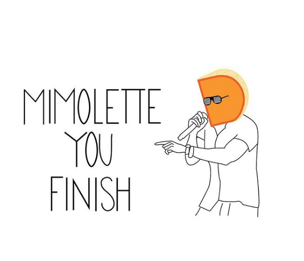 Mimolette You Finish