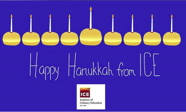 Happy Hanukkah from ICE!