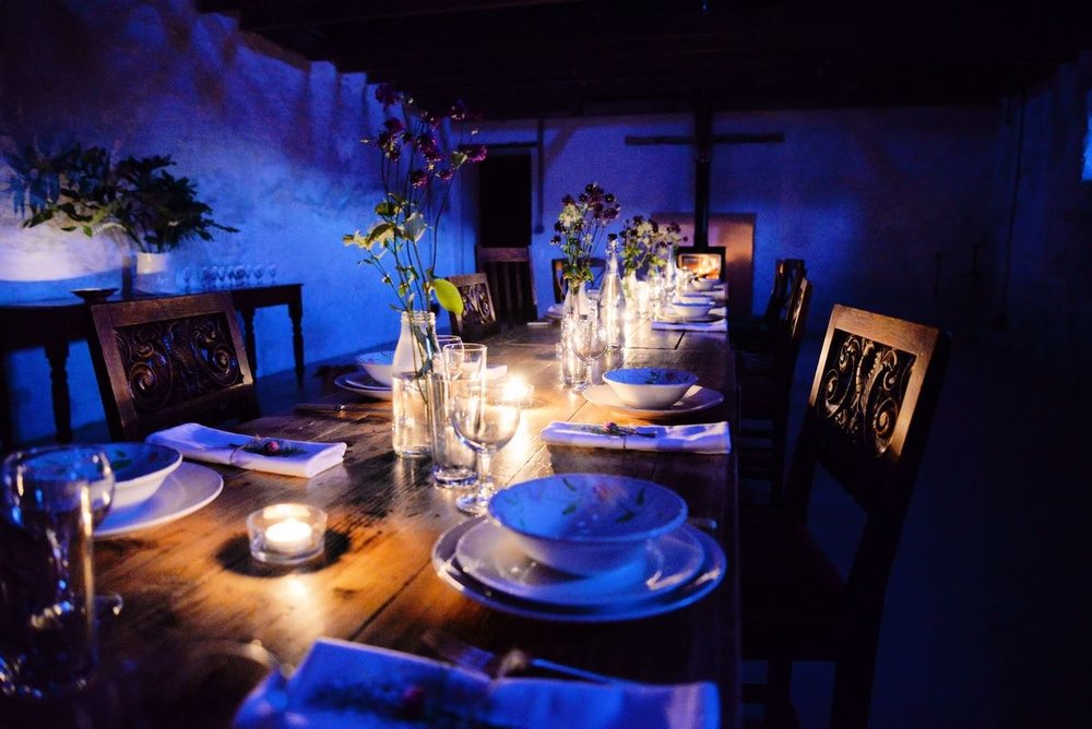 chic and intimate evening party