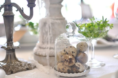 vintage props in wedding styling
