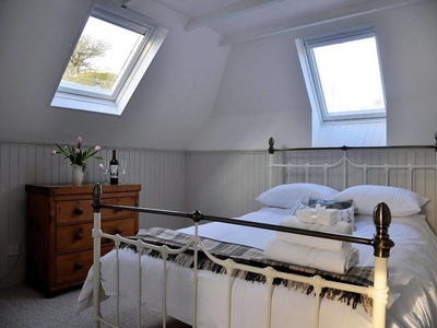 The Bothy - romantic honeymoon suite interior design