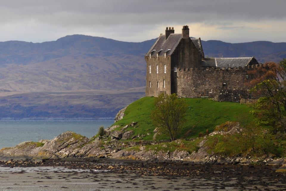 Duntrune cstle, a scottish castle on the west coast of Scotland