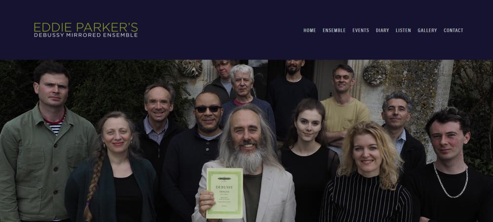 EDDIE PARKER'S EPDME - A collaborative WEB project with Squiff C