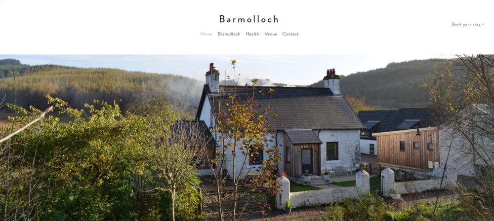Barmolloch - Web site design & build