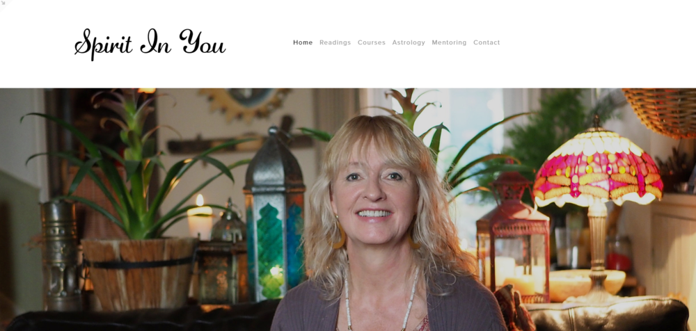 Spirit In You - Web site design & build. A collaborative project with Squiff