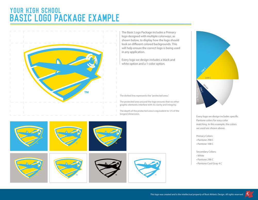 Logo Packages Root Athletic Design