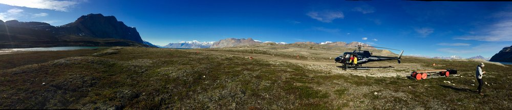 The airstrip at Ella Ø, east Greenland.